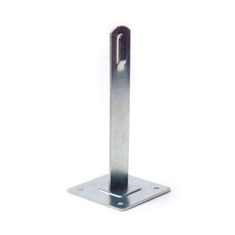 Держатель металлический для плоской кровли 100мм ND2106