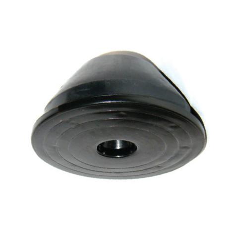 Держатель круглый пластиковый с бетоном ND2101