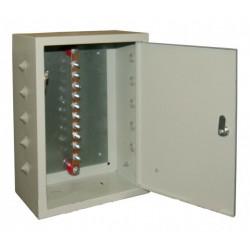 шкаф заземления 10 подключений 300х40х4 мм, медь (ГЗШ)
