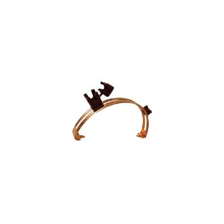 Держатель на конек кровли регулируемый (медь, оцинкованная сталь, нержавеющая сталь)